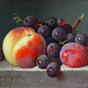 Still Life Fruit Oil Painting